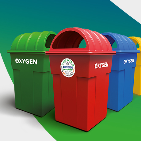 Dust Bins Rectangular